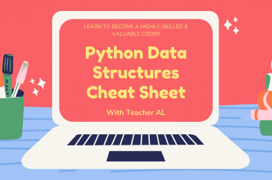 Tutorial #1: Python Data Structures Cheat Sheet