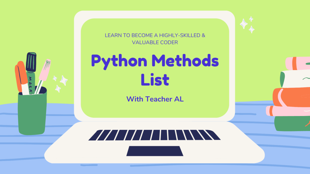 Python Methods List