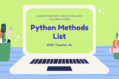 Tutorial #4: Python Methods List – Proven Kickstart