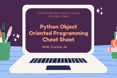 Tutorial #5: Python Object Oriented Programming Cheat Sheet