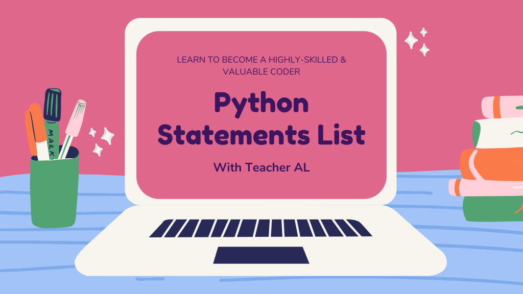 Python Statements List