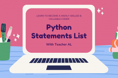 Tutorial #3: Python Statements List – A+ Easy