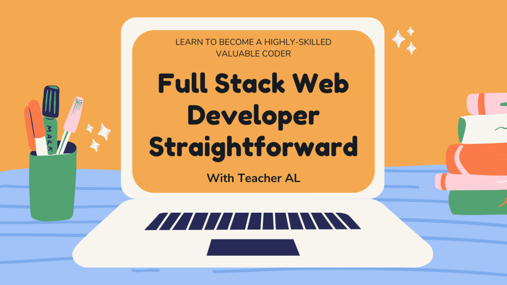 Full Stack Web Developer by Al Ardosa